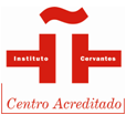 [Logo] Instituto Cervantes. Centro acreditado.